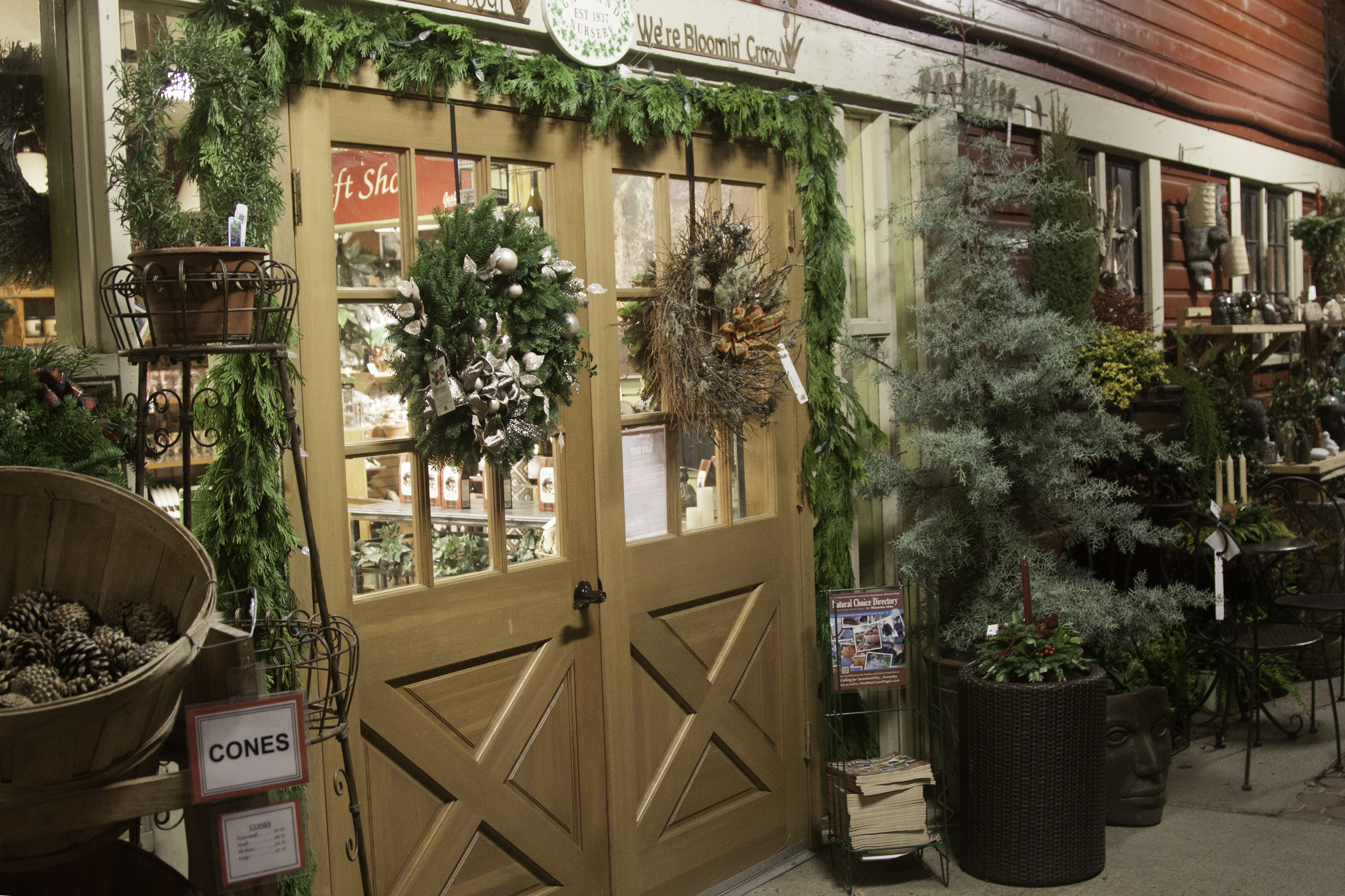 The View From the Barn | Garland Nursery is always in flux – – see ...
