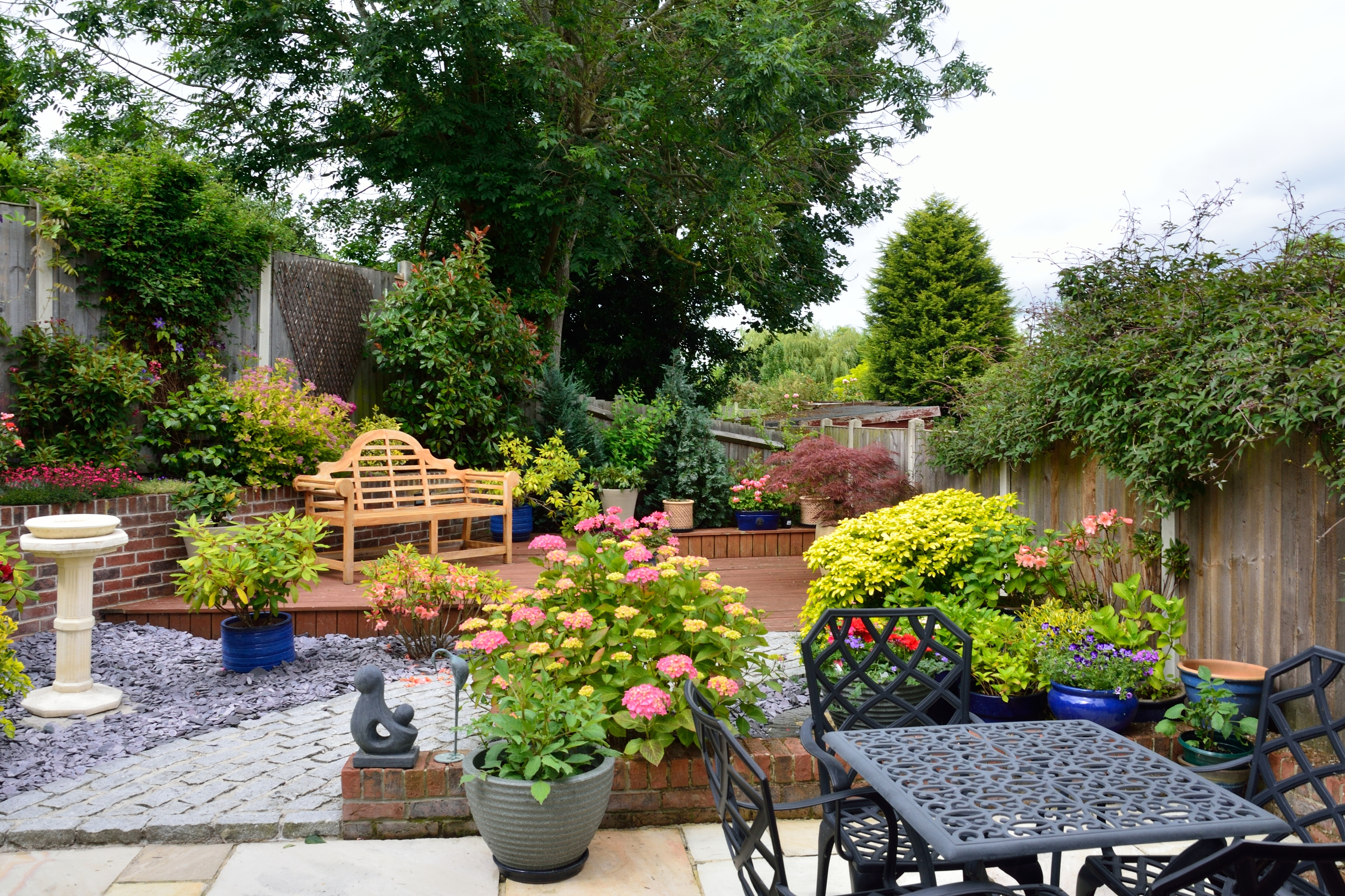 How to create a low maintenance garden the view from the for Creating a low maintenance garden